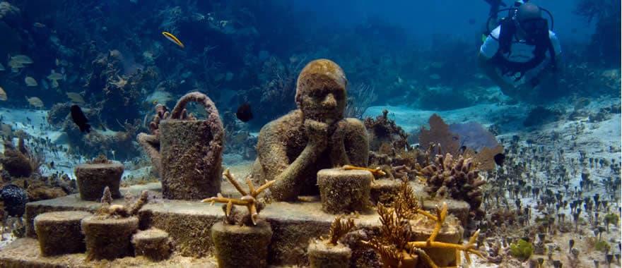 Populares Museo Subacuático de Cancún SI83