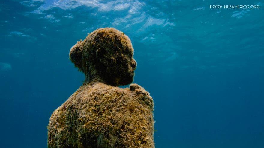 Famosos Impresionante Museo Subacuático de Cancún LK25