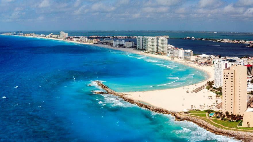 Resultado de imagen para playa mandala cancun
