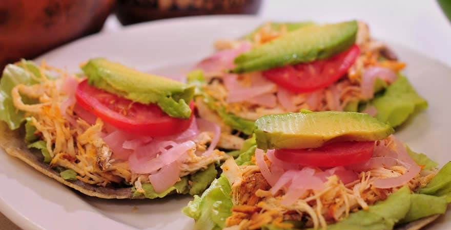 Salbutes, Yucatecan Food