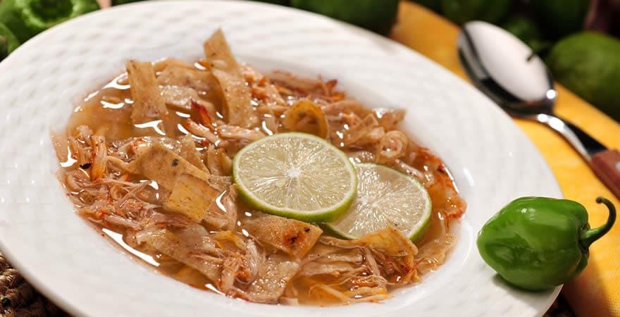 Lima Soup, Yucatecan Food